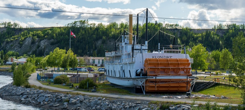 The Millennium Trail, Bert Law Park, S.S. Klondike and The Whitehorse Dam