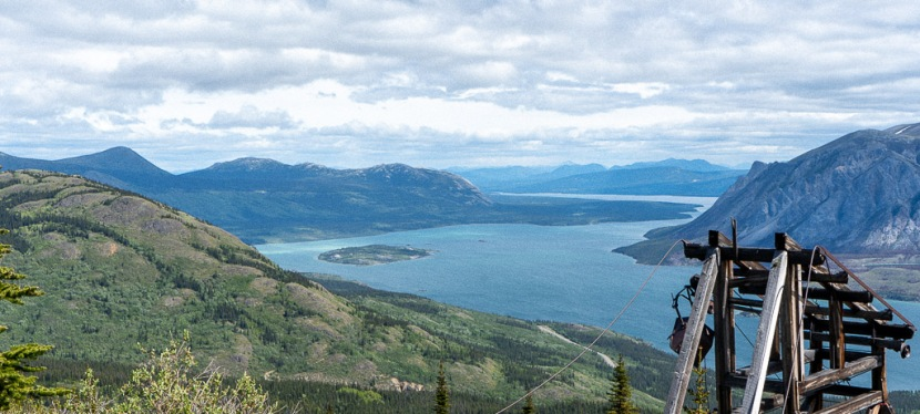 Hiking the Sam McGee Trail in Carcross, Yukon