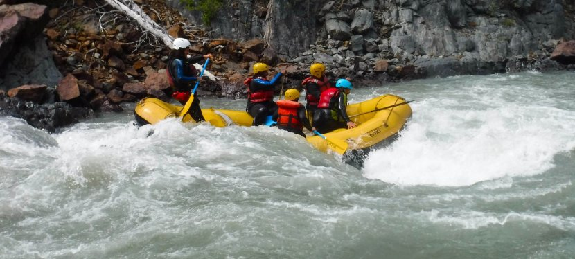 Kluane National Park: Part 1 – White water rafting on Tatshenshini River