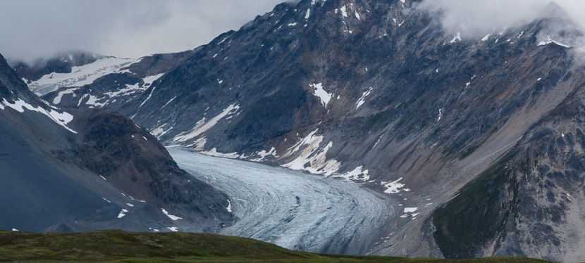 Hiking the Samuel Glacier Trail in Tatshenshini-Alsek Provincial Park