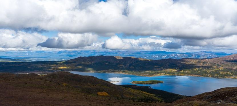 Hiking Fish Lake and Bonneville Lakes in Whitehorse, YukonTerritory