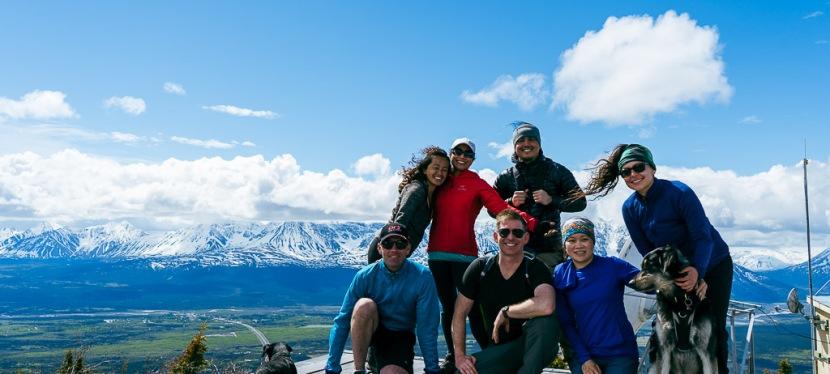 Paint Mountain Hike near Kluane National Park,Yukon